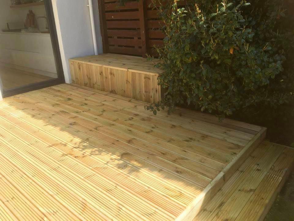 Timber Decking Porch Hobart