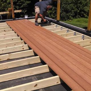 Timber Decking work Hobart
